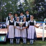 Gartenfest 2013 mit Wanderpokal der Jugend
