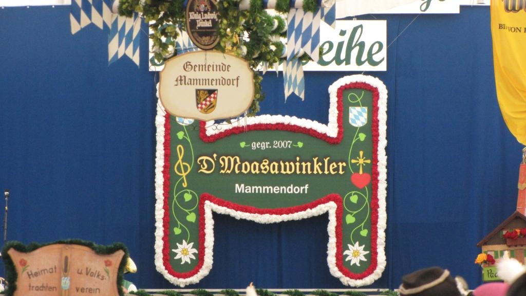 Fahnenweihe Mammendorf 2014