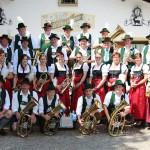Vereinskapelle zur 65-jährigen Vereinszugehörigkeit und zu Ihrem 90-jährigen Bestehen