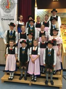 Jugendwertungsplatteln Huosigau 2017